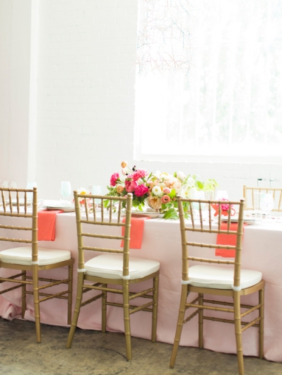 Flamingo Pop Bridal Shower Inspiration on earlyivy.com